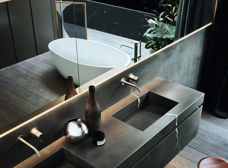 salle de bain moderne - Art et création
